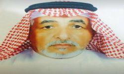 الشيخ تركي محمد تركي العلياني يرقد على السرير الابيض